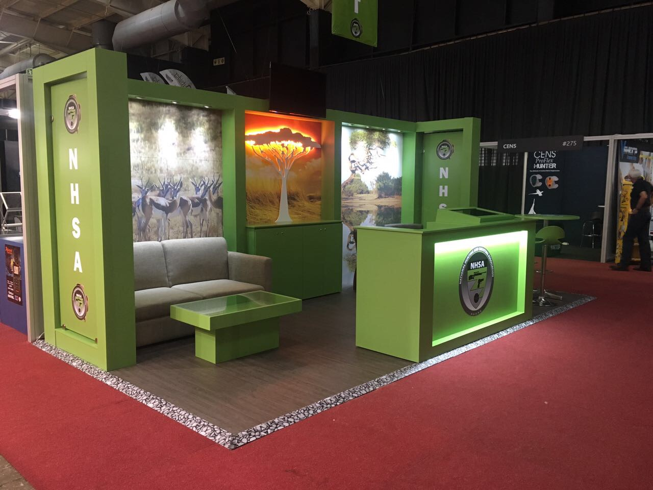 Exhibition Stand Projects : Projects in ligno